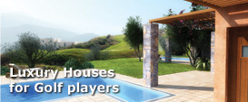 Luxury Houses for Golf players